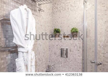 Pár öntet tájkép kert sötét fürdő Stock fotó © photography33