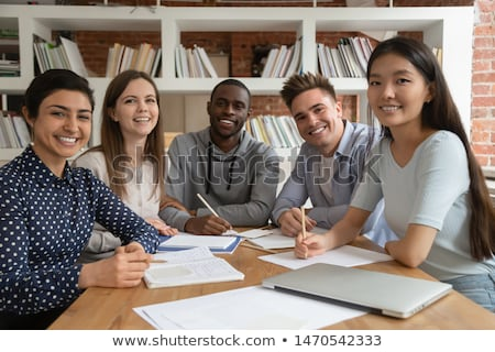 Teen college student ready to attend college Stock photo © stockyimages