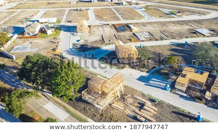 Montage of incomplete house build Stock photo © photography33