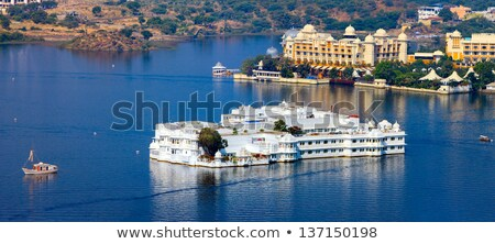 Сток-фото: Palace And Lake In Udaipur India