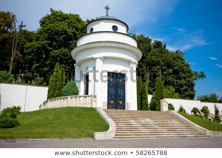 small chapel on the military cemetery stock photo © photocrea
