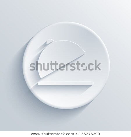 Restaurant Design With a Plate and Hat Stock photo © Lightsource