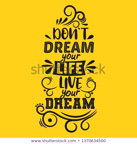 Cieszyć się życia słowa dekoracji korka papieru Zdjęcia stock © Ansonstock