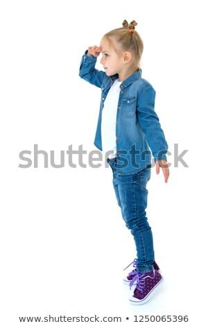 Little girl looking away stock photo © emese73