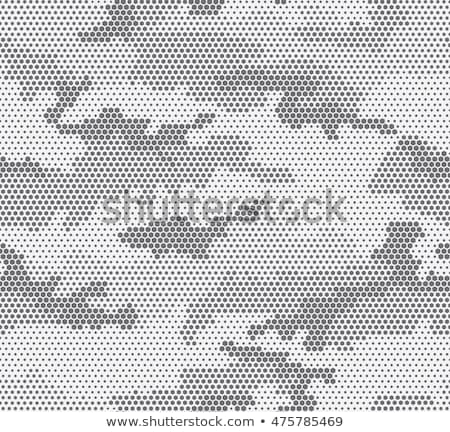 digital camouflage pattern seamless texture stock photo © tashatuvango