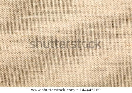 Zsákvászon textúra közelkép terv háttér retro Stock fotó © vadimmmus