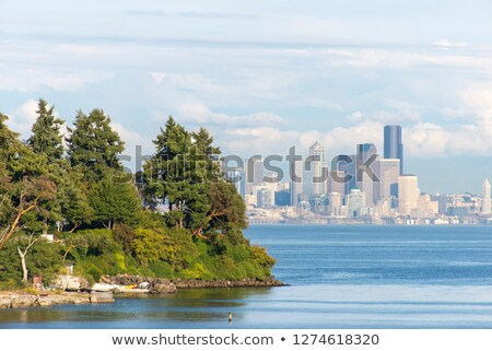 Bainbridge Island Harbor Puget Sound Washington State Stock photo © billperry