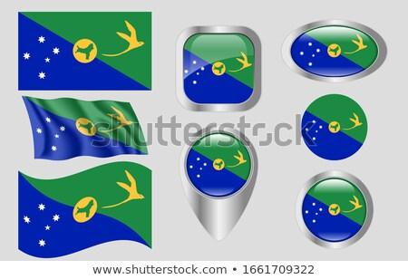 Bandeira natal peixe projeto vento Foto stock © joggi2002