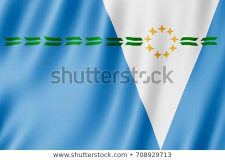 argentín · zászló · kék · ég · utazás · fehér · vidék - stock fotó © joggi2002