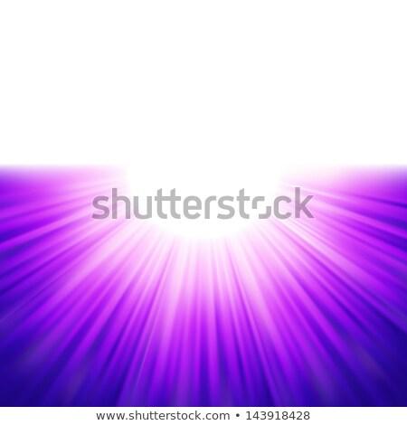 blu · raggi · eps · vettore · file - foto d'archivio © beholdereye