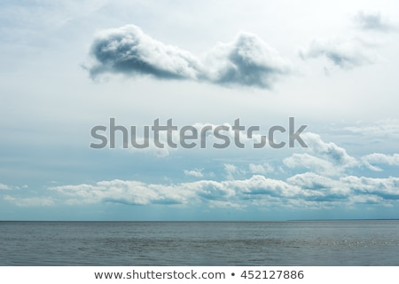 clouds over blue Stock photo © ArenaCreative