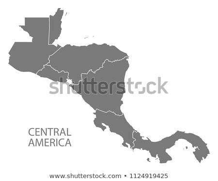 詳しい · 地球 · 国 · セントラル · アメリカ - ストックフォト © volina