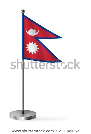 Miniature Flag of Nepal stock photo © bosphorus