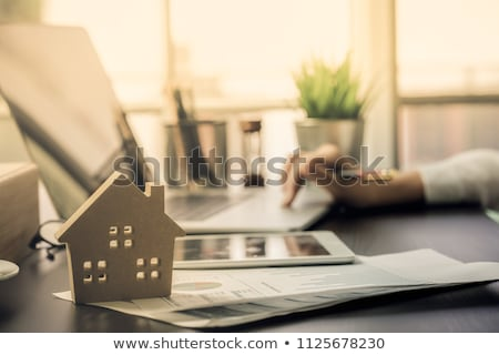 immobilier · plan · affaires · dossier · acheter - photo stock © lightsource