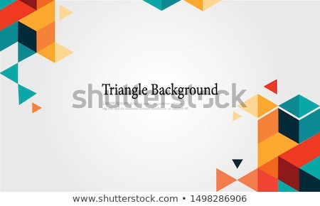 abstrato · triângulo · formas · web · design · fundo · arte - foto stock © beholdereye