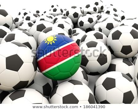 флаг Намибия футбола команда стране Сток-фото © MikhailMishchenko