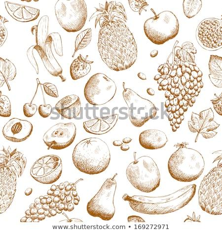 masa · örtüsü · tekstil · tahta · doku · dizayn · mutfak - stok fotoğraf © redpixel