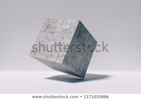 Concrete cubes Stock photo © jarin13