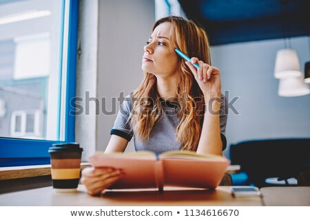 woman trying to remember stock photo © ichiosea