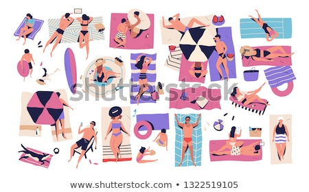 Tanning Isolated Stock photo © songbird