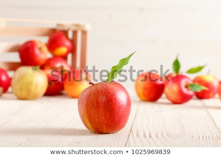 apples in red light Stock photo © PetrMalyshev