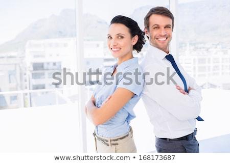 sospettoso · moglie · ricevimento · tasca · Coppia - foto d'archivio © feedough