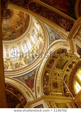 aziz · katedral · gökyüzü · şehir · seyahat · ibadet - stok fotoğraf © mahout
