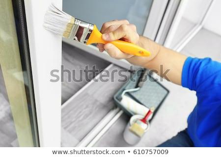 House Painting Stock photo © zelimirz