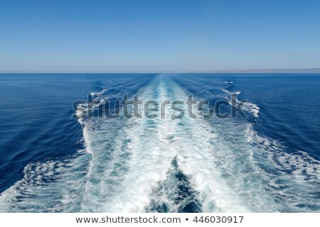 速度 ボート トレース 青 海 自然 ストックフォト © smuki
