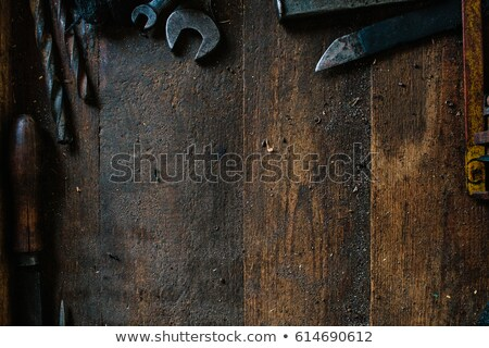 Old vise Stock photo © Artlover