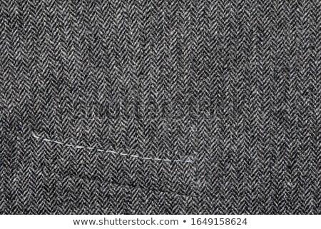 Fragment vest Maakt een reservekopie metaal gesp textuur Stockfoto © Taigi