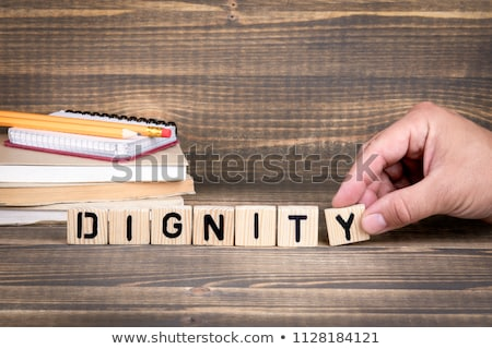 Human right word on book Stock photo © tang90246
