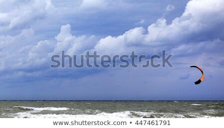 Power kite at sky before rain Stock photo © BSANI