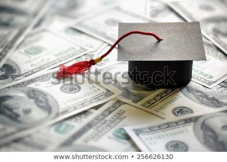 főiskola · alap · üveg · bögre · bankjegyek · oktatás - stock fotó © lightsource
