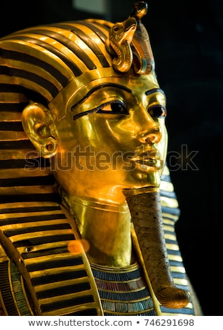 Stock photo: Mask of Tutankhamun's mummy