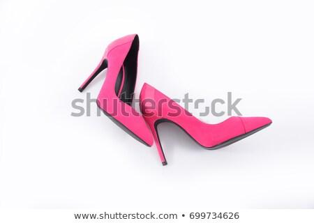 розовый обуви Сток-фото © meltem