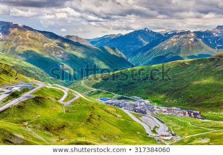 Beautiful mountain peaks in Andorra  Stock photo © digoarpi