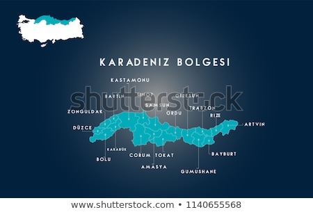 Map of Turkey, Corum Stock photo © Istanbul2009