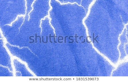 Bleu rayé écharpe Photo stock © RuslanOmega