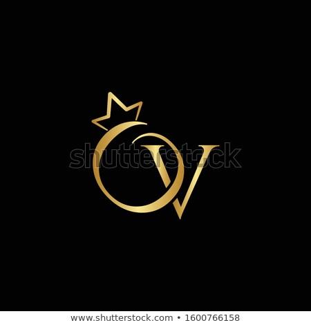 gemme · lettera · lucido · diamante · carattere · sfondo - foto d'archivio © logoff