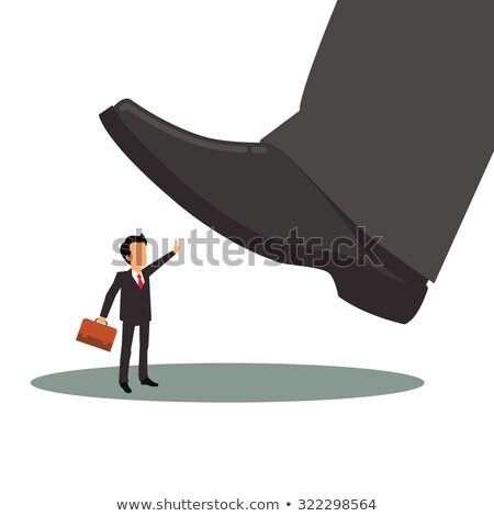 Főnök foglalkoztatott munka férfi üzletember állás Stock fotó © alphaspirit