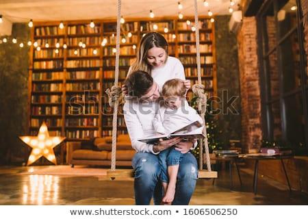 aile · bebek · kadın · mutlu · çocuk - stok fotoğraf © Paha_L