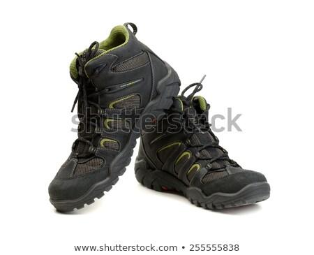 Pair of high-tech waterproof winter boots trekking. Stock photo © RuslanOmega
