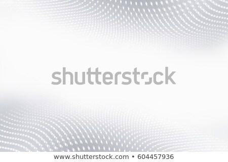 Elegáns szürke hullámos füst absztrakció vektor Stock fotó © saicle