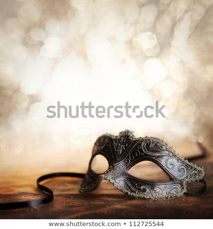 Female carnival mask Stock photo © grafvision