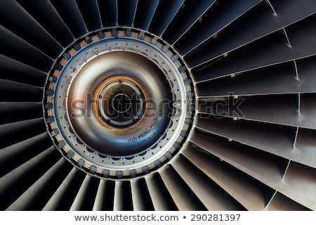 Aircraft engine close-up. Stock photo © Kirill_M