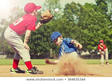 little league baseball player stock photo © 2tun