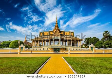 Royal Palace in Phnom Penh Stock photo © prill