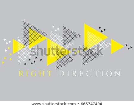 seamless background of arrows stock photo © pakete