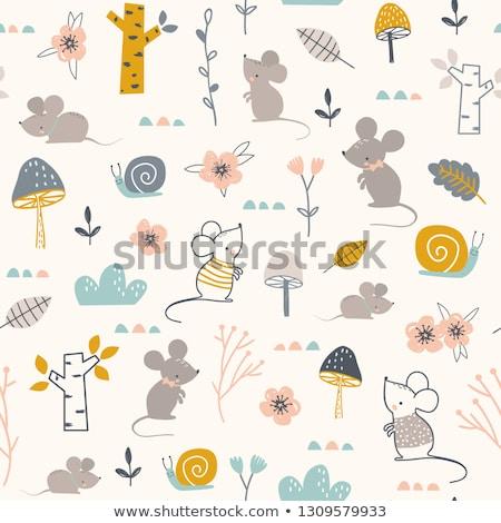 Nino caracol movimiento como nino Shell Foto stock © bluering